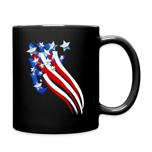 Sweeping Old Glory - Full Color Mug