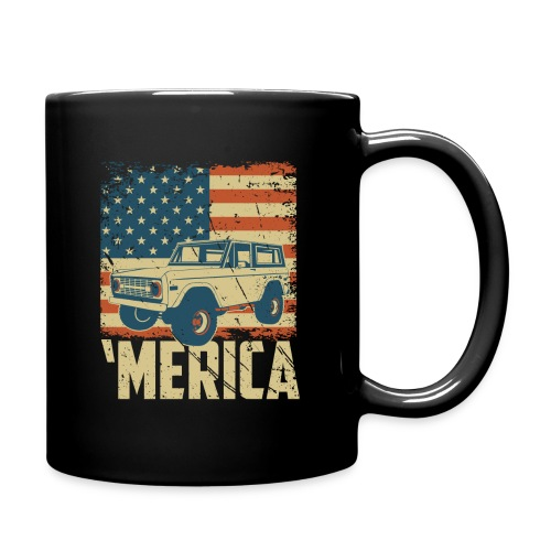 Bronco Truck 'merica Classic Off-Road T-shirt - Full Color Mug