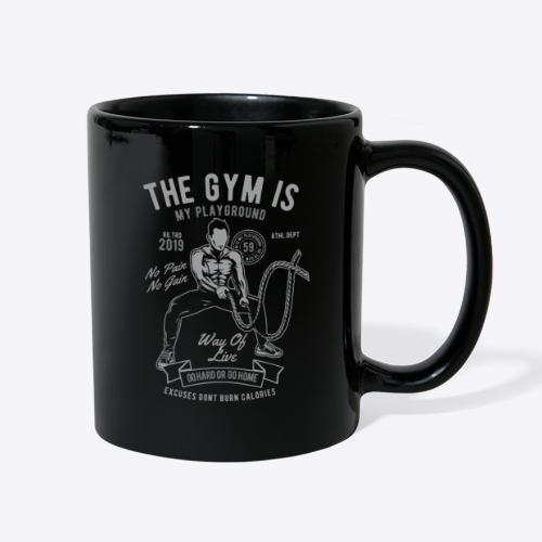 The gym is my playground - Full Color Mug