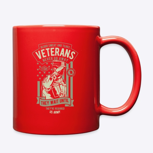 US Army Veterans - Full Color Mug