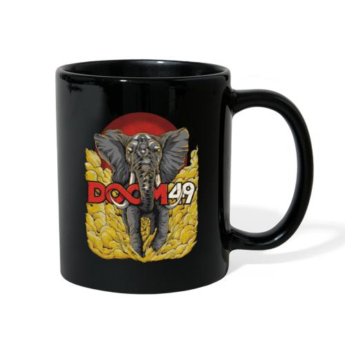 Yellow Smoke Elephant by DooM49 - Full Color Mug