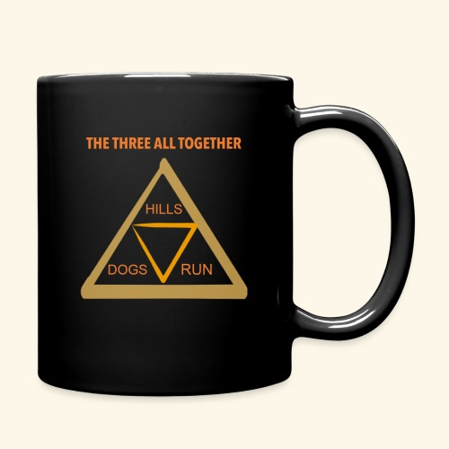 Run4Dogs Triangle - Full Color Mug