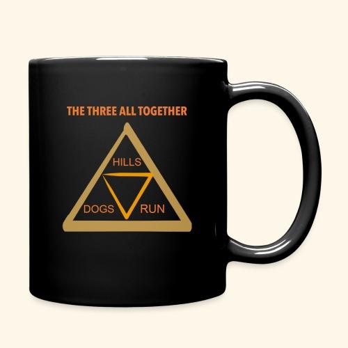 Run4Dogs Triangle - Full Color Mug