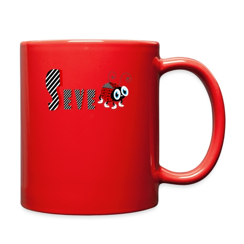 7nd Year Family Ladybug T-Shirts Gifts Daughter - Full Color Mug