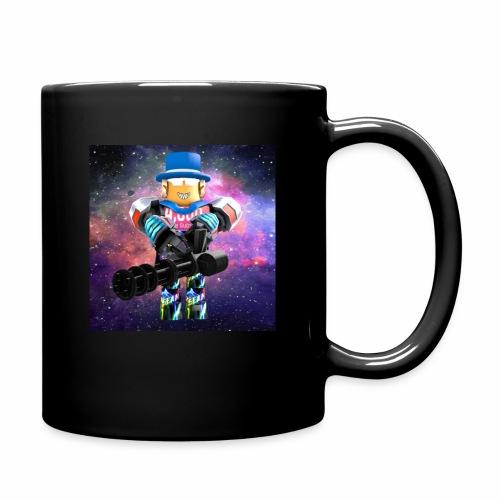 sean roblox character with minigun - Full Color Mug