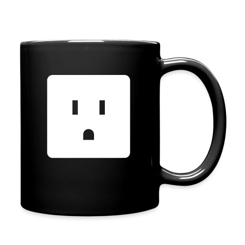 Funny Halloween Couples Costume Wall Outlet Female - Full Color Mug