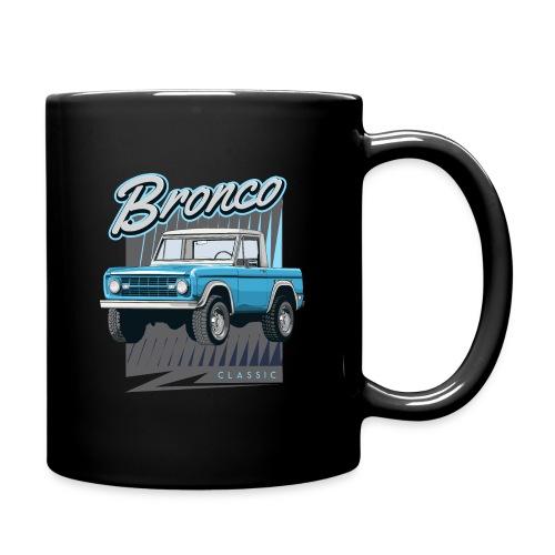 BRONCO Blue Half Cap Truck T-Shirt - Full Color Mug