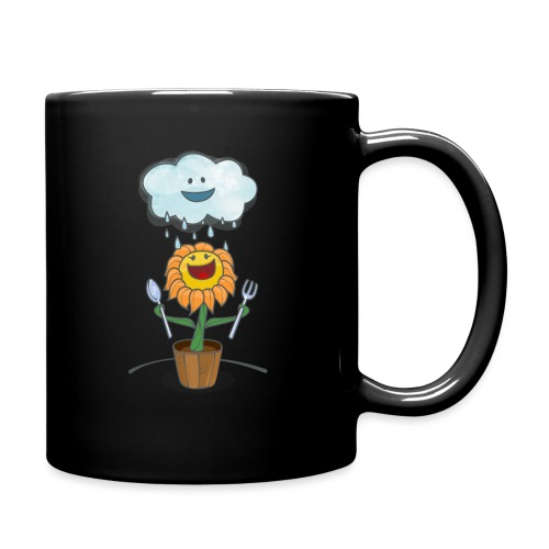 Cloud & Flower - Best friends forever - Full Color Mug