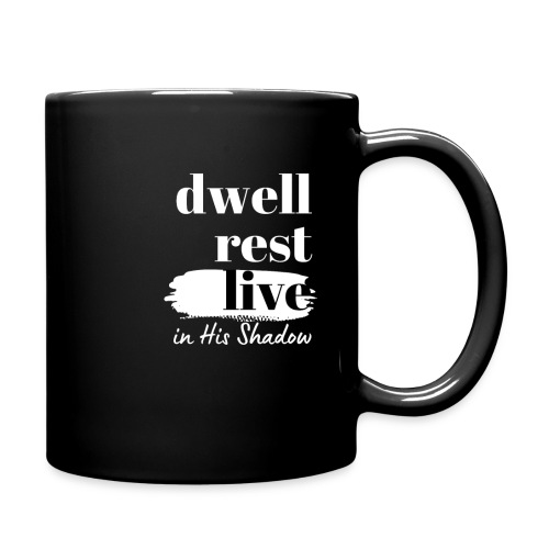 In His Shadow Tee (White) - Full Color Mug