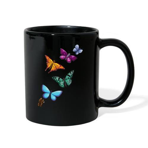 butterfly tattoo designs - Full Color Mug