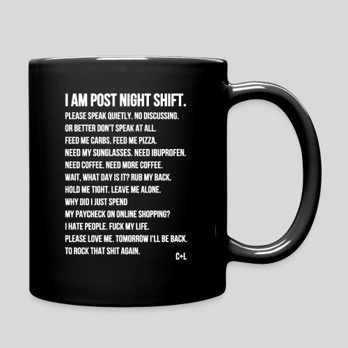 Night Shift Poem - Full Color Mug