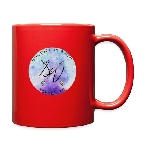 everyday is a new adventure logo - Full Color Mug