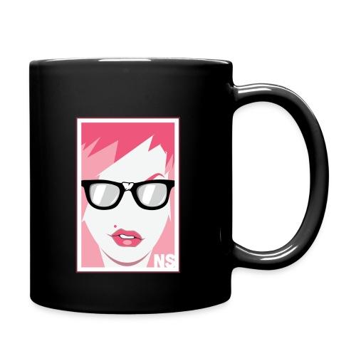 The Nerdy Stripper Logo Box png - Full Color Mug