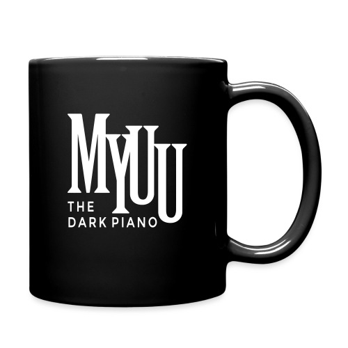 myuu Logo DarkPiano final - Full Color Mug