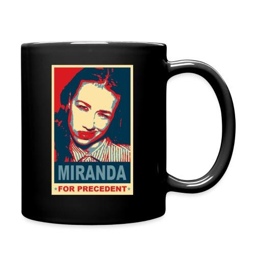 Miranda Sings Miranda For Precedent - Full Color Mug