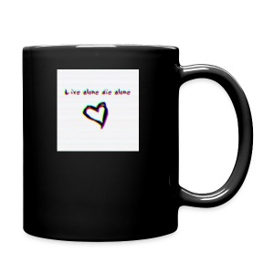 Lil Manny Live Alone Die Alone - Full Color Mug