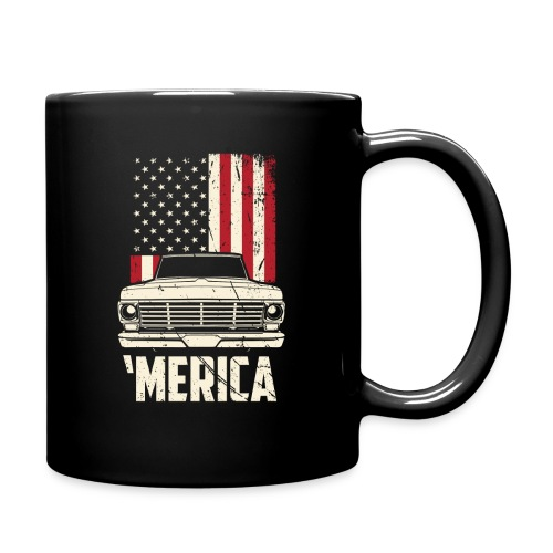 'Merican F100 Truck Men's T-Shirt - Full Color Mug
