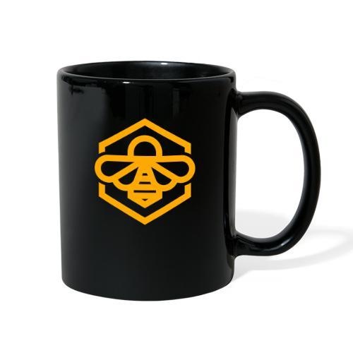 bee symbol orange - Full Color Mug
