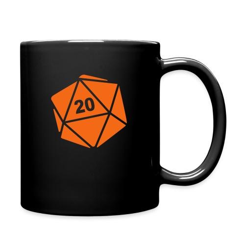 D20 Winter Toque - Full Color Mug