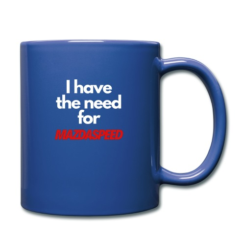 I have the need for MAZDASPEED - Full Color Mug