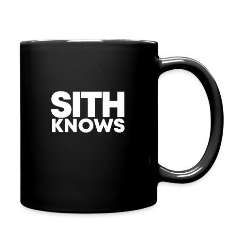 SITH KNOWS - Full Color Mug