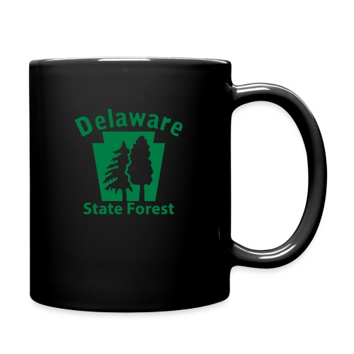 Delaware State Forest Keystone (w/trees) - Full Color Mug