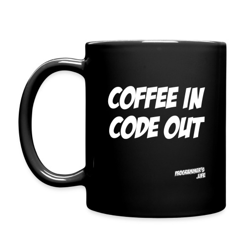 Coffee In, Code Out - Full Color Mug