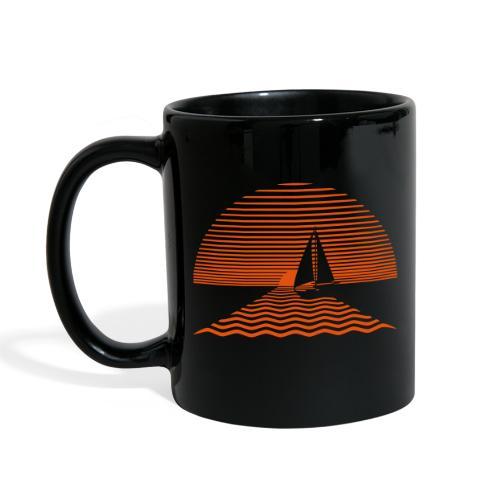 Sunset Sailboat - Full Color Mug