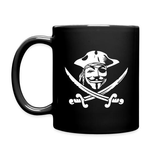 Anon Pirate Mugs & Drinkware - Full Color Mug
