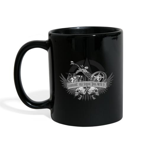 Hardcore. Old School. Deal With It. - Full Color Mug