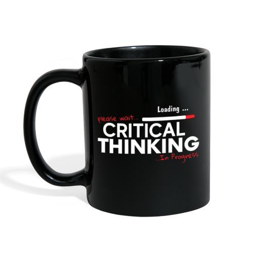 Critical Thinking in Progress 2 - Full Color Mug