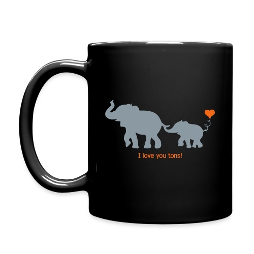 I Love You Tons! - Full Color Mug