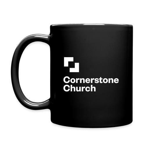 Black Cornerstone Mug - Full Color Mug