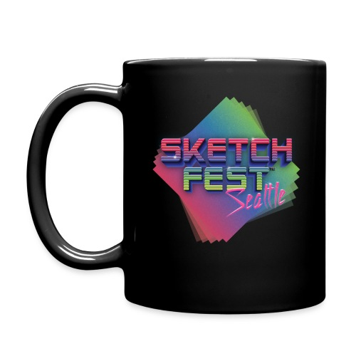 SketchFest2016 Tshirt 2500x2500 png - Full Color Mug