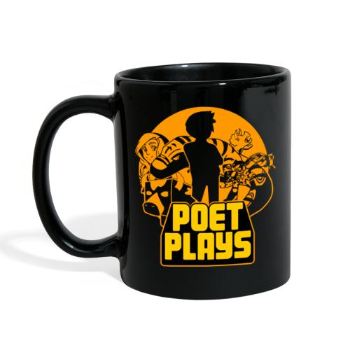 Poet Plays RETRO - Full Color Mug