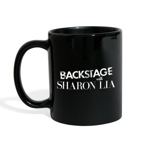Backstage With Sharon Lia - White - Full Color Mug