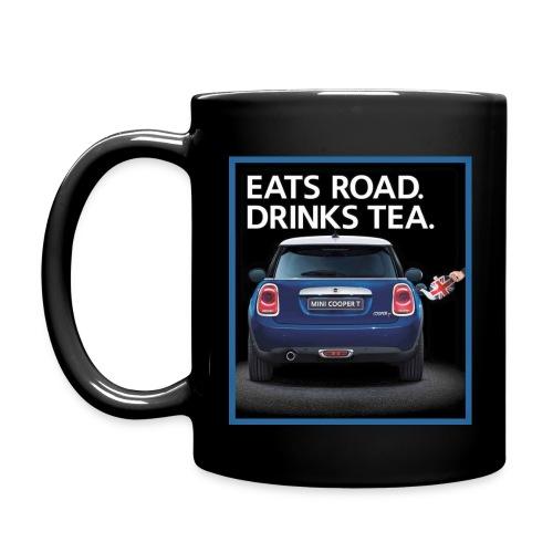 Eats road drinks tea - Full Color Mug
