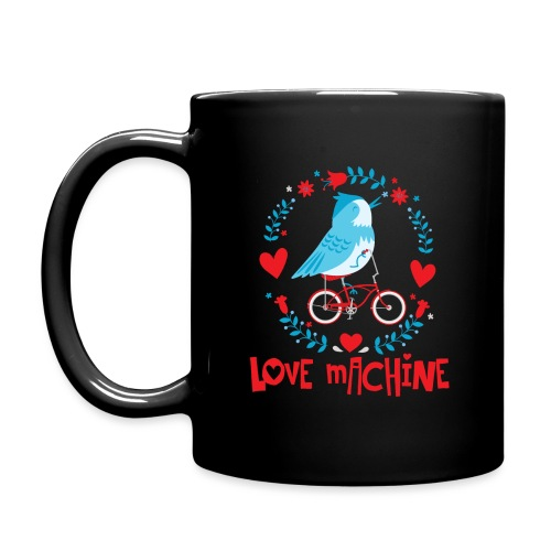 Cute Love Machine Bird - Full Color Mug