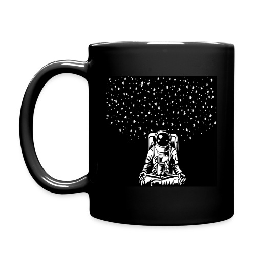 Astronaut in the lotus position, symbol of meditat - Full Color Mug