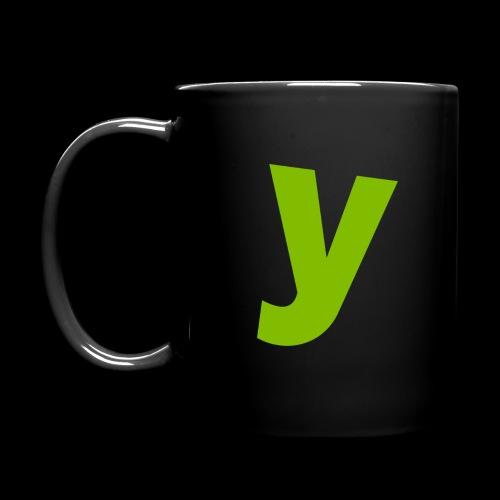 logo solid green - Full Color Mug