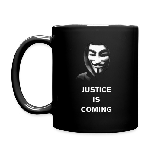 justice is coming gif - Full Color Mug