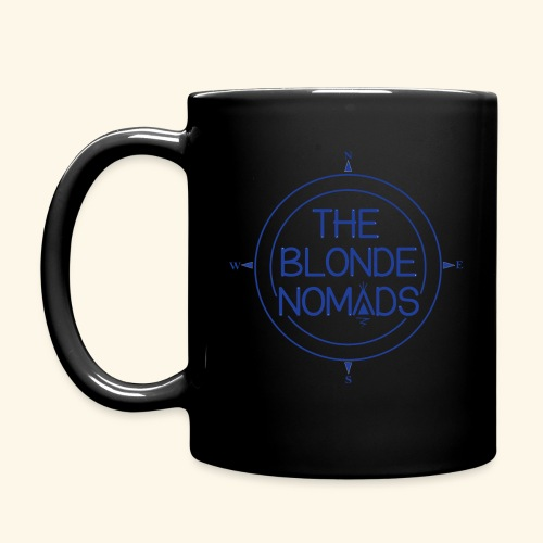 The Blonde Nomads Blue Logo - Full Color Mug