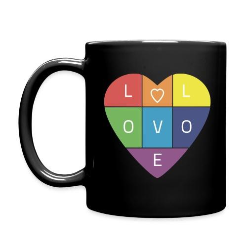 Rainbow Heart - Full Color Mug