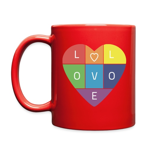 Rainbow Heart - Full Color Mug