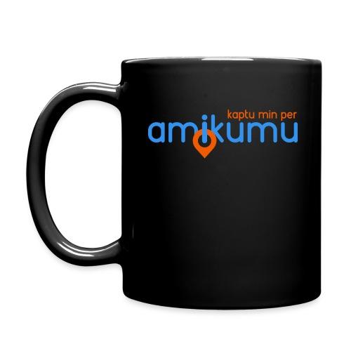 Kaptu min per Amikumu Blua - Full Color Mug