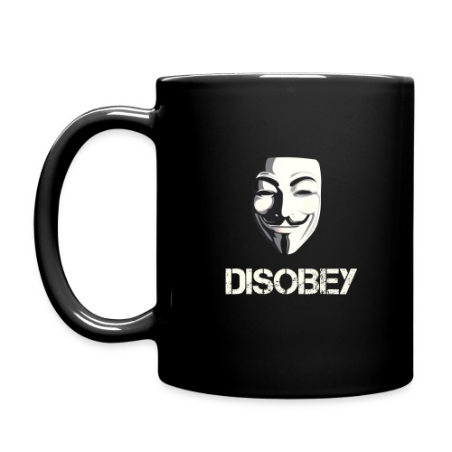 Anonymous Disobey gif - Full Color Mug