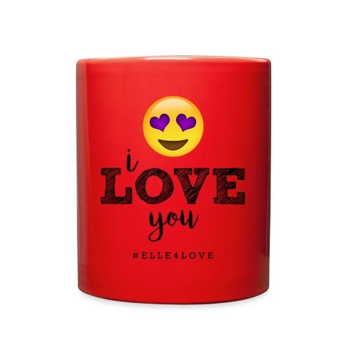 I LOVE you - Full Color Mug