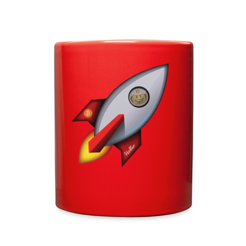 Bit for Buck: Hodler Rocket Coffee Mug - Full Color Mug