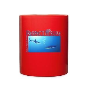 Respect The Shark - Full Color Mug