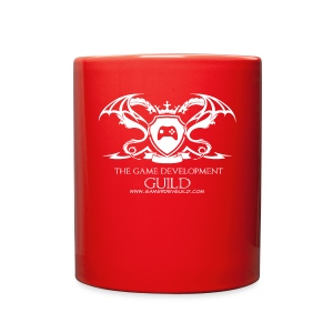 White Game Development Guild Crest - Full Color Mug